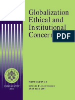 Acta 7 (Globalization, Ethical and Institutional Concerns)