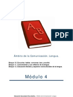 Lengua Modulo 4