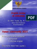 Praktik Kedokteran di Indonesia