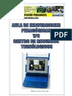 ORGANIZACIÓN DE LA CARPETA PEDAGOGICA DEL DOCENTE RESPONSABLE DEL AIP Y