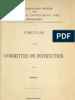School Catalog 18700 Penn