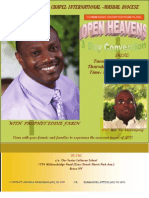 Open Heavens Convention