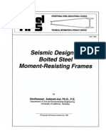 SSEC 1995 Seismic Design of Bolted Steel Moment-Resisting Frames 87p