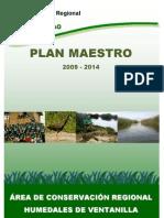 Plan Maestro 2009 - 2014 ACR Humedales de Ventanilla