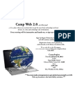 camp web 2 0 flyer