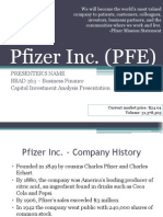 Pfizer Inc Company Analysis1