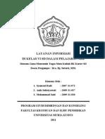 Layanan Informasi Di SD