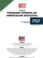 Programa Integral de o.e. Def
