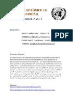 GUIA DE TRABAJO CONSEJO HISTÓRICO DE SEGURIDAD