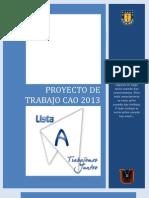 Proyecto de Traabajo CAO 2013 Lista A