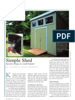 Handy Simple Shed