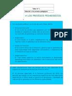 Actividad 1 Induccion a Procesos Pedagogicos