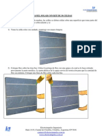 Instructivo Panel Solar 36 Celdas 156x156mmt