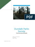 Dundalk, Maryland Parks Survey