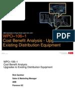 Cost Benefit Analysis Upgrades