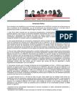 Declaración Pública – JRME – 08 de abril de 2013