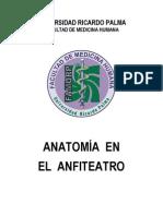 Anatomía en el Anfiteatro