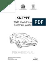 Jaguar XK- TYPE 2003 Model Year Electrical Guide