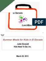 El Dorado LunchBox