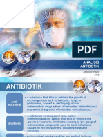 ANALISIS Antibiotik