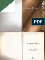 Los Signos Del Goce - J a Miller