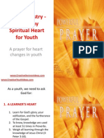 Youth Ministry - A Healthy Spiritual Heart for Youth