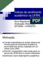 Índices Acadêmicos UFRN.ppt