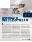 Downstream of Single Stream, Resource Recycling,