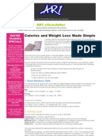 AR1 PTNewsletter Counting Calories