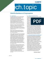 Chemical Resistance of Polypropylene