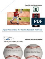 Upper Valley Sports Education Foundation - Baseball Clinic