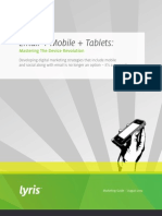 Email Mobile Tablets Mastering the Device Revolution US