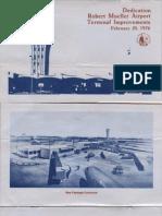 1976 Robert Mueller Airport Rededication Program