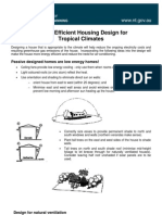 Energy Efficient Housing Design for Tropical Climates Fact Sheet