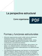 La Perspectiva Estructural