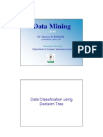 Decision Tree Classification