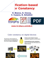 Classification-Based Color Constancy Cusano-Visual-08