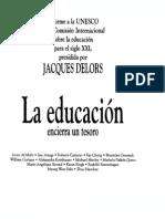 Delors Jaqcues - La Educacion Encierra Un Tesoro