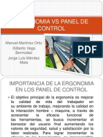 Ergonomia vs Panel de Control