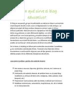 Para qué sirve el blog educativo.docx