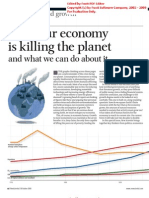 Ecological Economics - Beyond Growth - Why Our Economy is Killing the Planet - New Scientist 18 Oct 2008