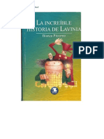 La Increible Historia de Lavinia. Bianca Pitzorno
