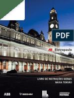 EBOOK - LIVRO DE INSTRUÇÕES GERAIS BAIXA TENSÃO - ELETROPAULO
