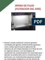 Campana de Flujo Laminar(Filtracion Del Aire)