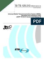 TS25.213 V9.2.0 Spreading Modulation FDD