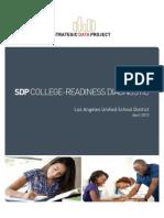 Harvard study on LAUSD graduation, college-readiness patterns