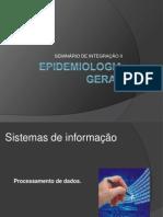 Seminário de integração II - Epidemiologia - Anterior