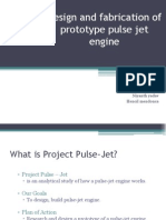 Project Pulse Jet Engine ppt