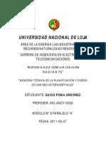 DISEÑO DE UNA RED DE DATOS INTER-HOSPITALES