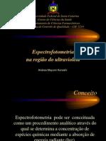 Espectrofotometria UV